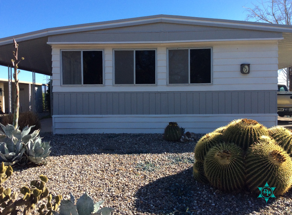 Desert Pueblo double wide mobile home lot 41