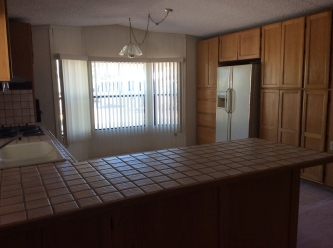 Kitchen & Dining Room - 1988 Palm Harbor Lot 420
